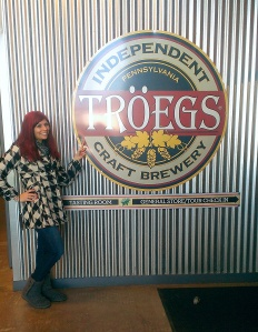 Janee at Troegs