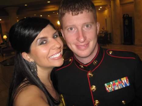 Ben & Janee at the USMC Birthday Ball in 2011