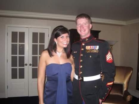 Ben & Janee at the USMC Birthday Ball in 2009